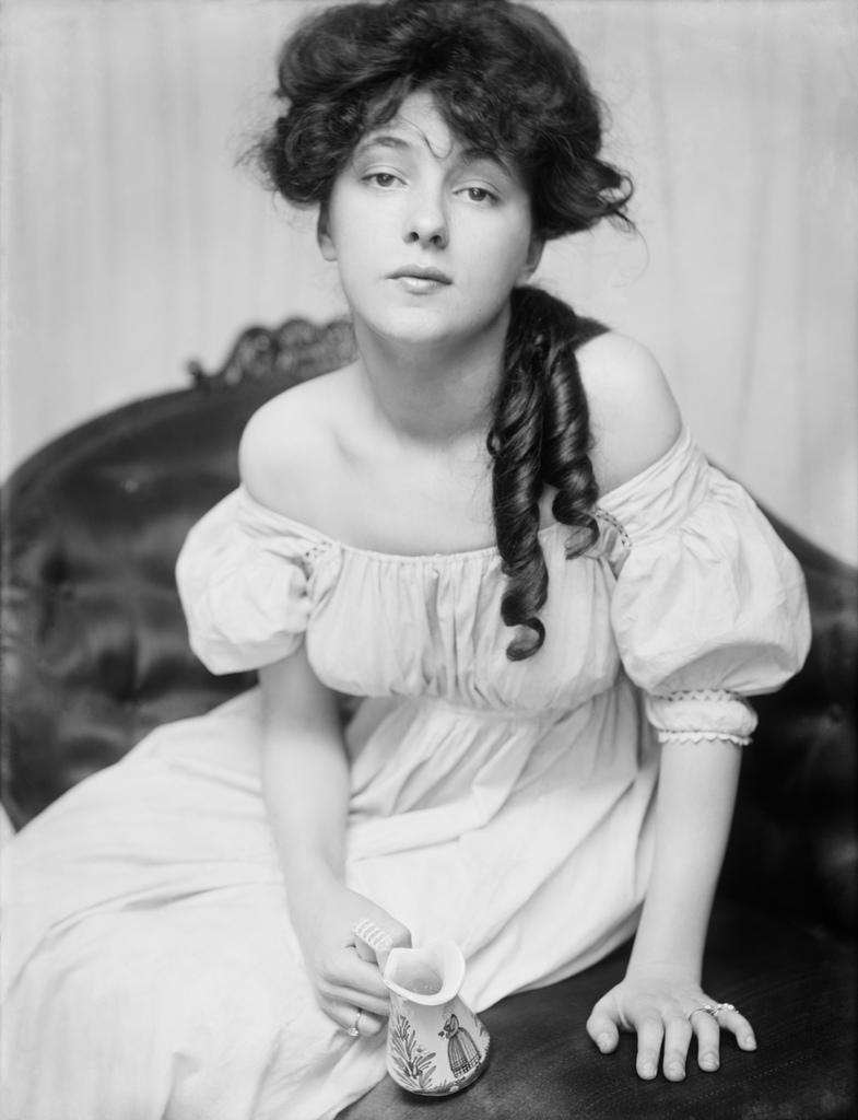 Evelyn Nesbit by Gertrude